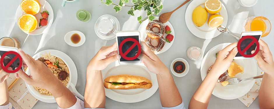 Drop the Device and Lose Weight