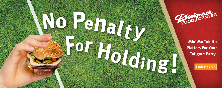 Catering - No Penalty