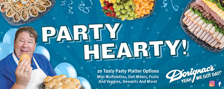 party hearty catering web slider