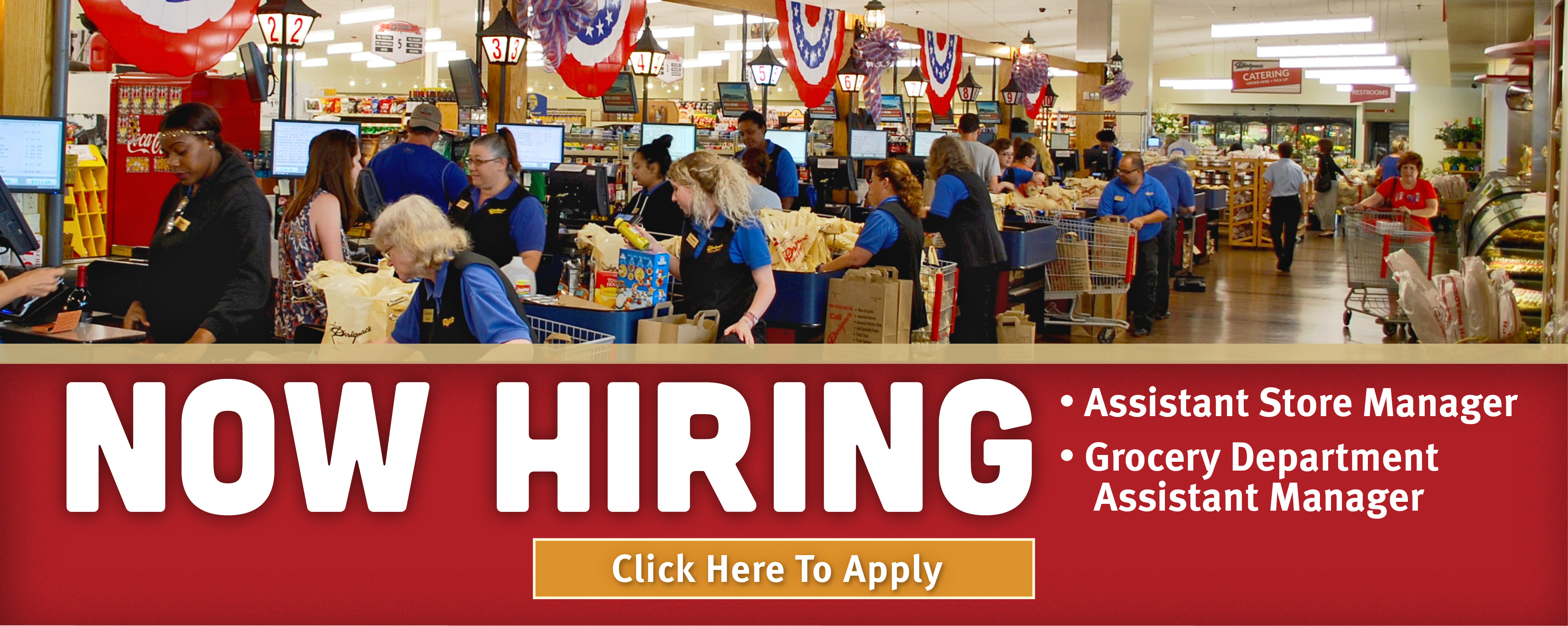 Now Hiring: General Store Managers web slider