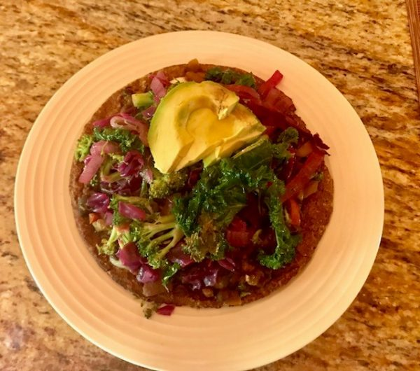 Cruciferous Black Bean Tostadotacobowl Dorignacs Food Center