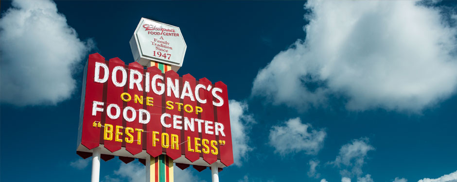 Dorignac's Store Sign